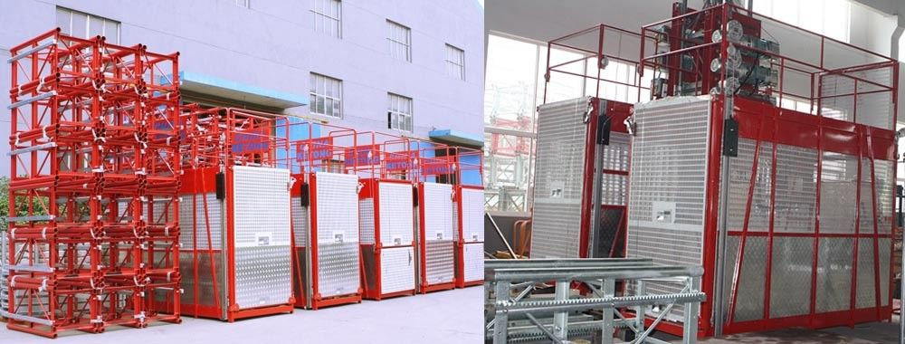 China am besten Cage Hoist en ventes