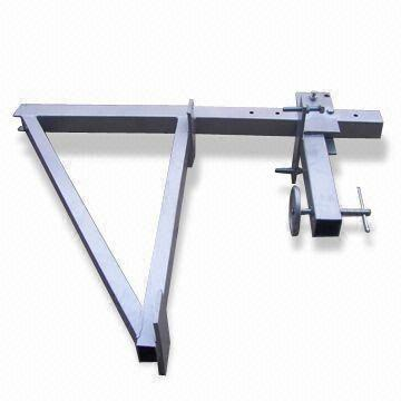 200mm ~ 600mm Thickness Support Scaffolding Parapet Clamps for Suspended Platform
